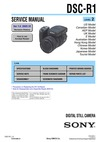 DSC-R1 SERVICE MANUAL LEVEL 2 US Model UK Model Hong Kong Model Chinese Model Korea Model Japanese Model Tourist Model