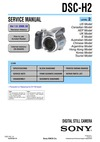 DSC-H2 SERVICE MANUAL LEVEL 2 US Model UK Model Chinese Model Korea Model Tourist Model
