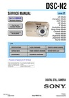DSC-N2 SERVICE MANUAL LEVEL 2 US Model Ver 1.0 2006.09 Canadian Model UK Model Hong Kong Model Argentine Model Japanese Model Tourist Model Link